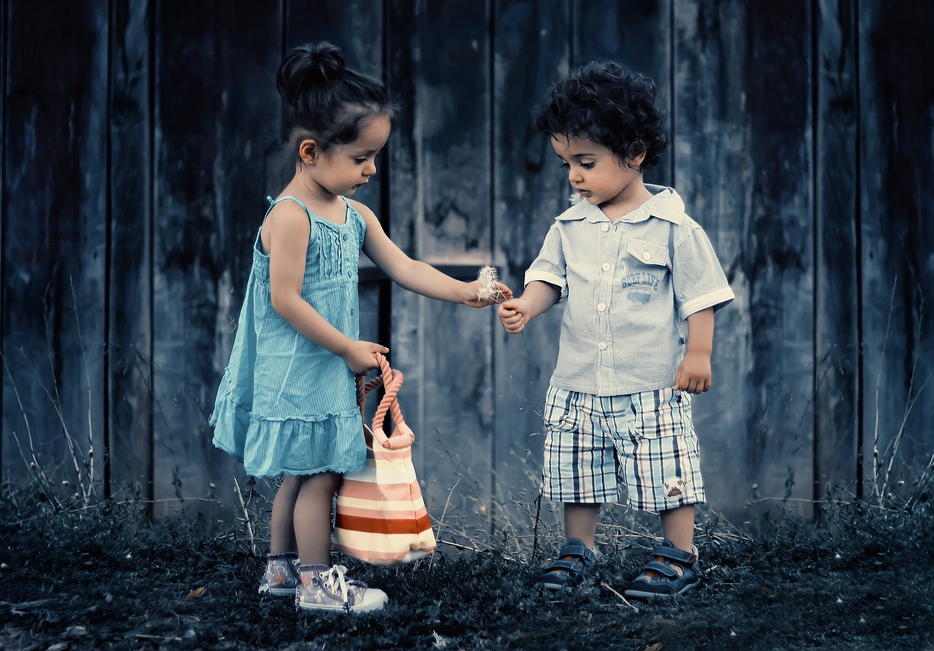 Kinder lieber Freunde, die reden wie Sie es tun