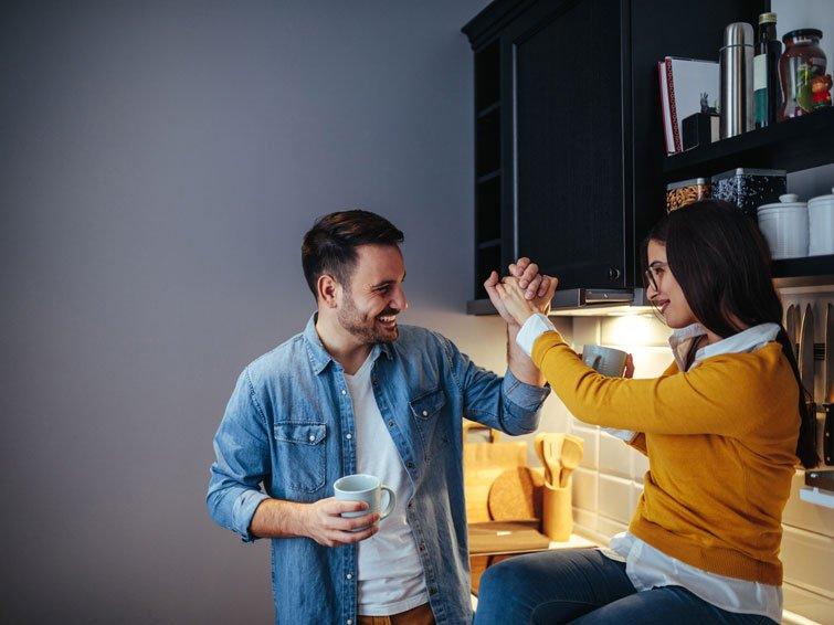 Rauchstopp gelingt zusammen mit dem Partner besser