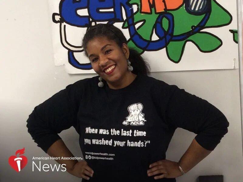 Mit humor—und Hirn-förmigen Jell-O—dieser Arzt lehrt Kinder über Gesundheit