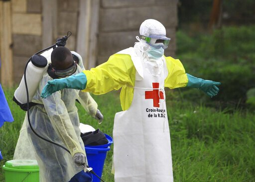 Kongo ist Ebola-Ausbruch möglicherweise werden erklärt globalen Notfall