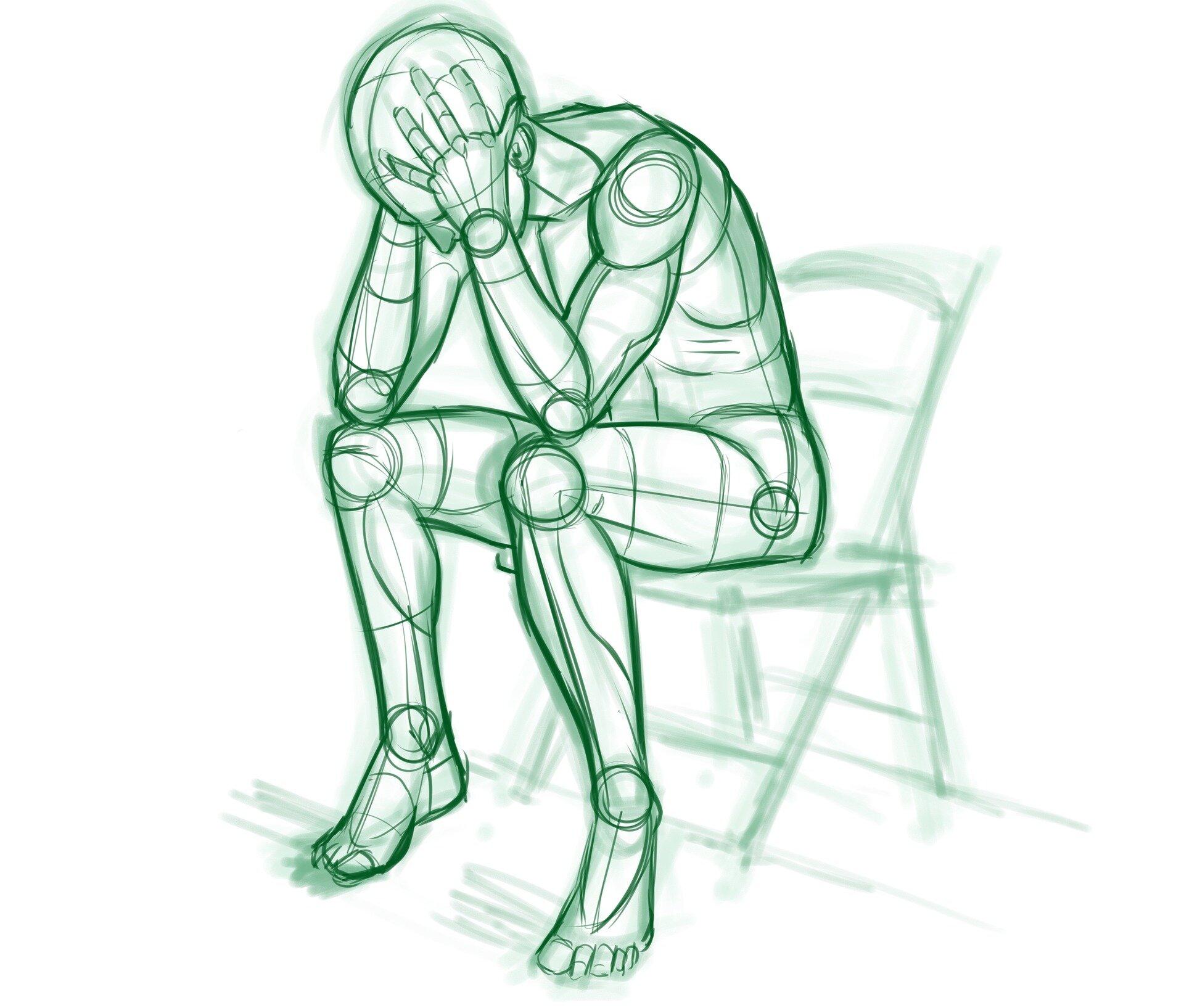 Studie liefert Einblicke in die depression bei Menschen mit chronisch entzündlichen Darmerkrankungen