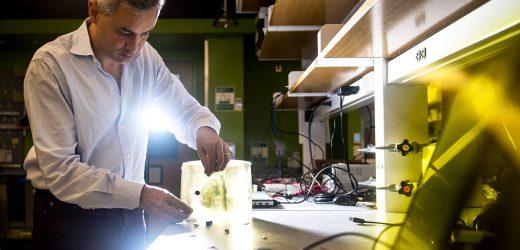 Könnte Schallwellen bringen uns schlauer medizinische Implantate?