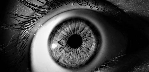 Eye-movement-test zu geben, Schlafentzug, entwickelt von der NASA