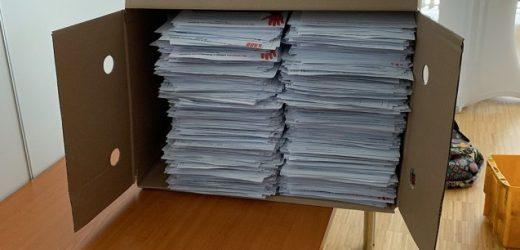 Offizielle Zahl: 402.080 Unterschriften für das Rx-Versandverbot