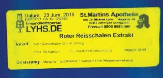 Landratsamt warnt vor Defekturen aus schwäbischer Apotheke
