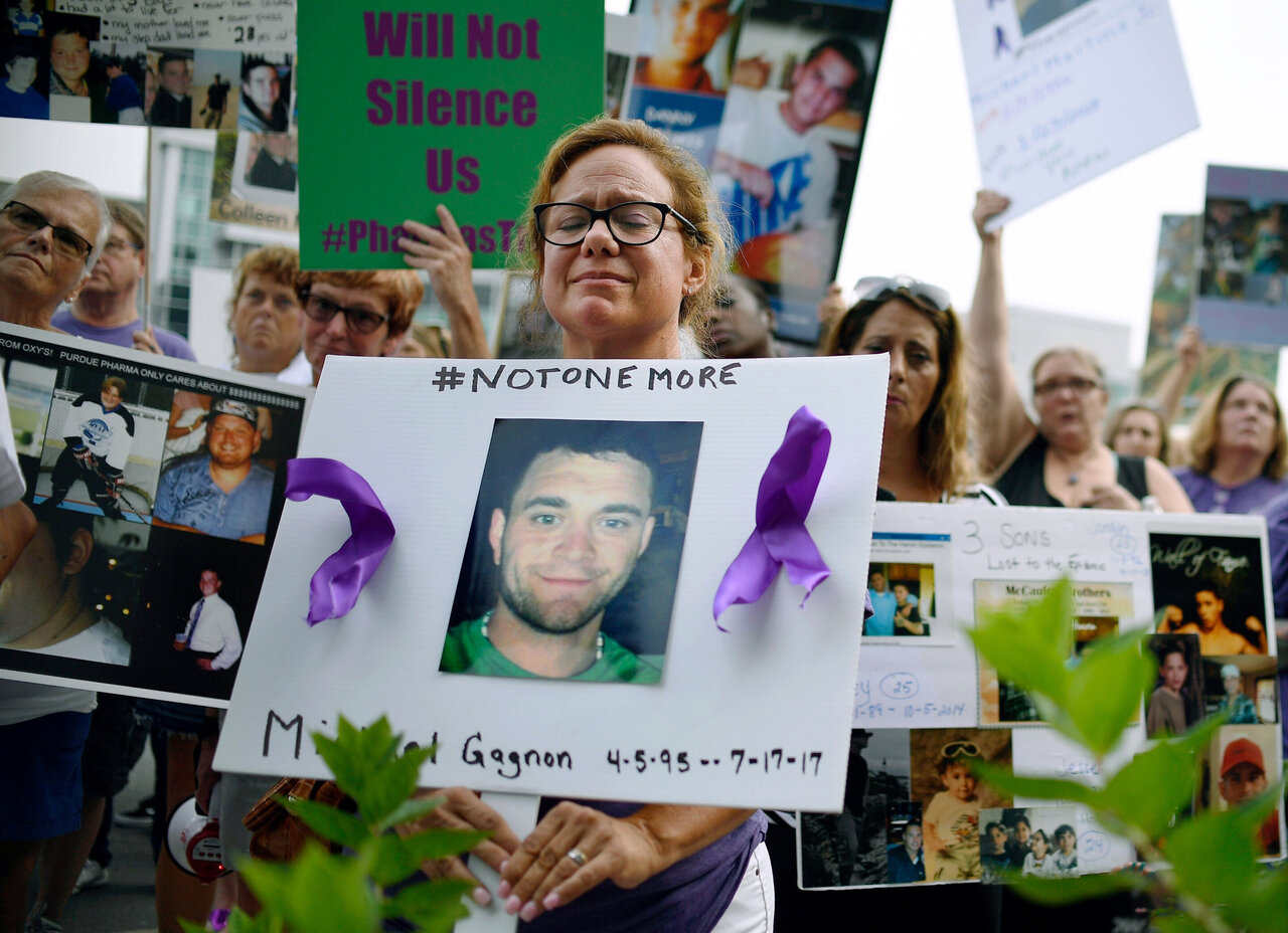 Ein Purdue Konkurs machen würde, Opioide Fällen sogar messier