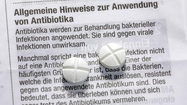 Deutschland beim Antibiotikaverbrauch eher im niedrigen Bereich