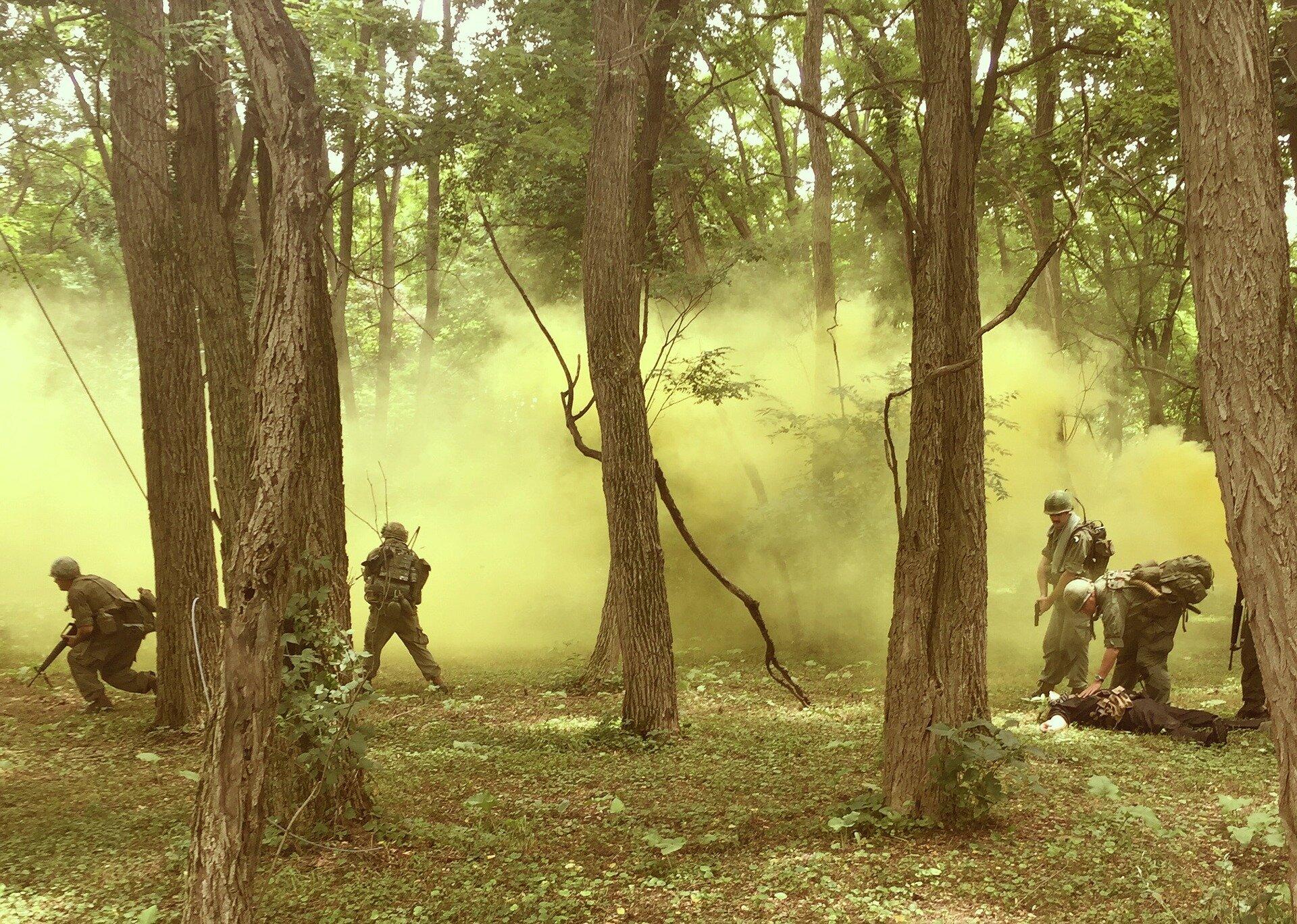 Vietnam-ära-Frauen-Veteranen auch weiterhin die Erfahrung der Kriegszeit stress