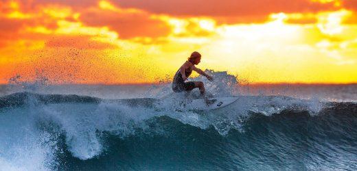 Studie findet die meisten surfen Verletzungen beinhalten, Schulter-oder Knie-Operation in der Regel nicht erforderlich