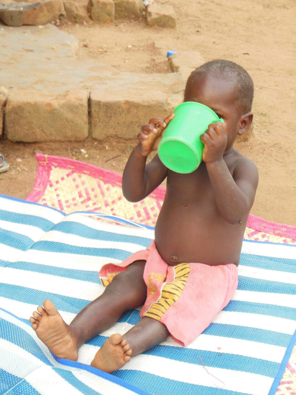 Supermärkte und Ernährung von Kindern in Afrika