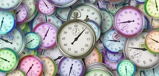 Vergesslichkeit vielleicht, hängt von der Zeit des Tages
