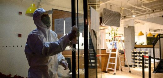 China bietet $43bn boost Firmen kämpfen virus