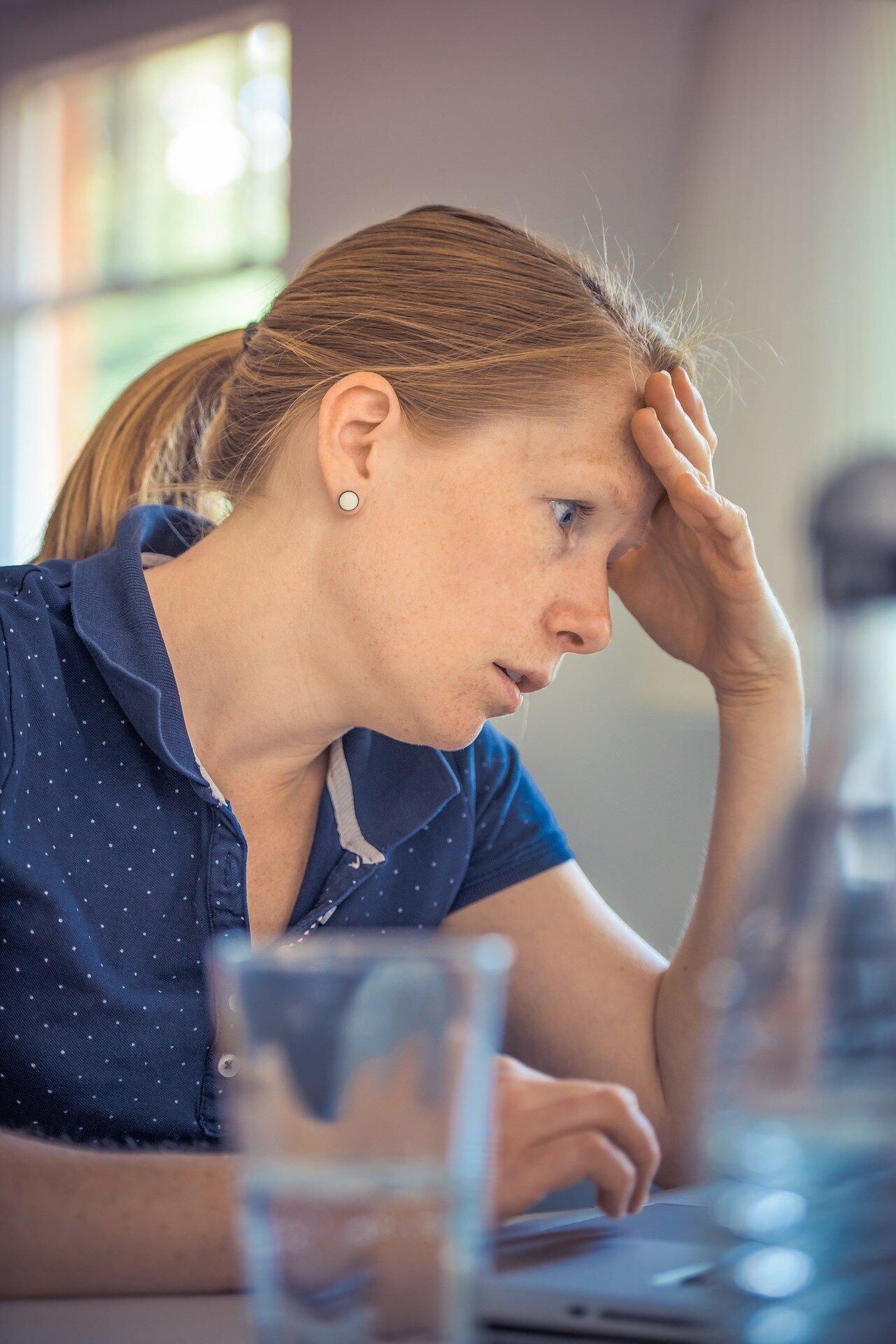 Chronischer stress kann zu Herz-Probleme