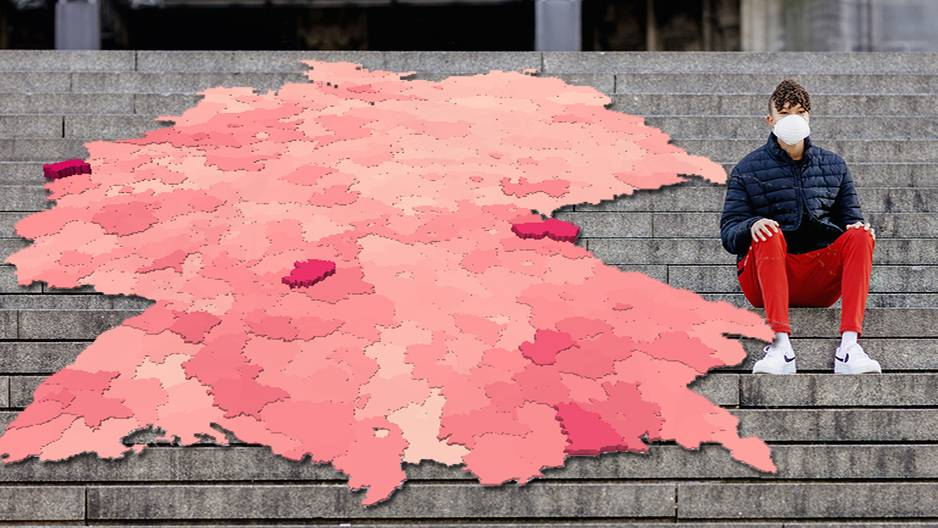 Coronavirus: Hier finden Sie Zahlen für Ihren Kreis und Ihre Stadt – und Hilfe bei der Einordnung