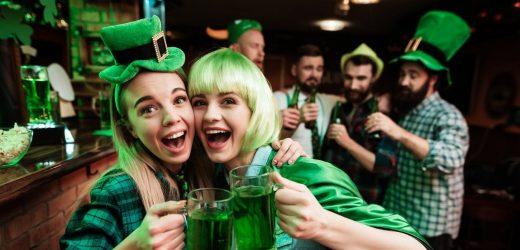 St. Patrick ' s Day: Eine Zeit zum toast, Ihre Leber, und, wie es sich mit grünem Bier