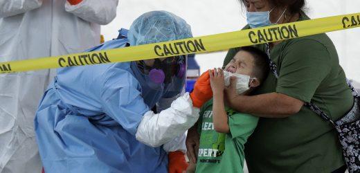 CDC-Staaten, die Berichte von virus-test-Daten führt zu Verwirrung