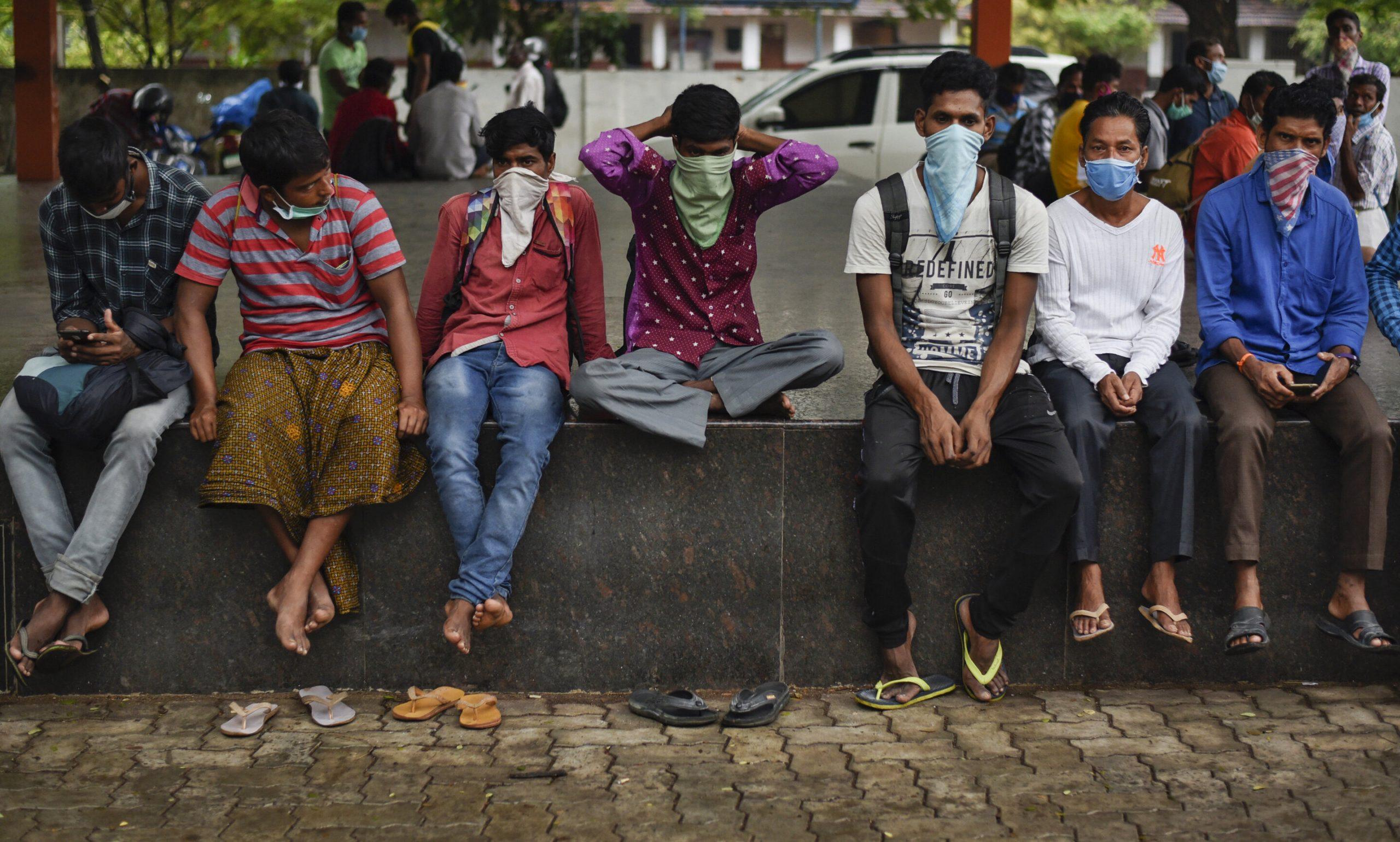 Globale sorgen wie Infektionen spike in Russland, Brasilien, Indien