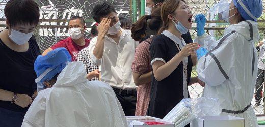 Peking weitet sperren verfügen als Fälle, die top 100 in den neuen Ausbruch
