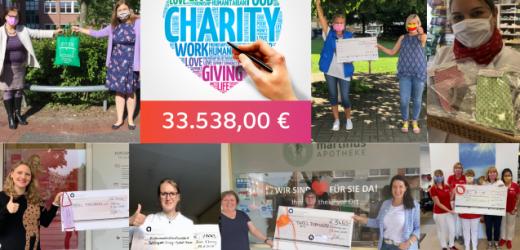 Charity-Aktion von Apothekerinnen übertraf Erwartungen