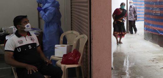 Indien hat 1 million virus Fällen, Nationen Schlacht flare-ups