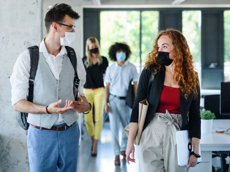 Straight talk aus front-line-Experten auf eine Maske zu tragen