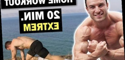 HIIT-Workout: 20 Minuten intensives Bodyweight-Training mit Sascha Huber