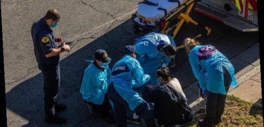 Patienten sterben auf dem Flur: Dramatische Corona-Lage in Los Angeles