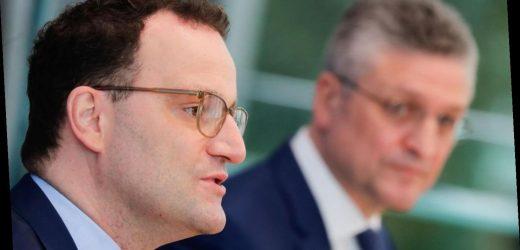 Spahn und Wieler informieren über Corona-Lage in Deutschland
