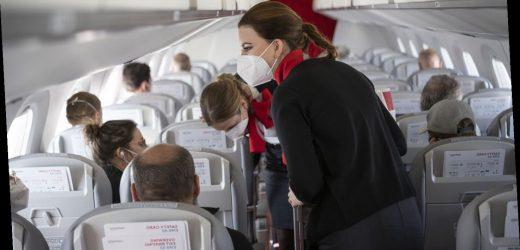 Wie hoch ist die Corona-Ansteckungsgefahr auf kurzen Flügen?